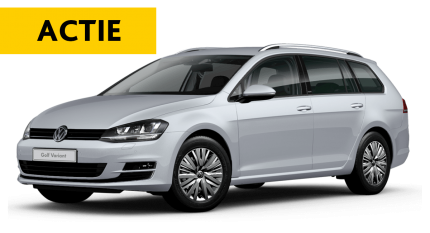 Mega flexlease actie: VW Golf Variant